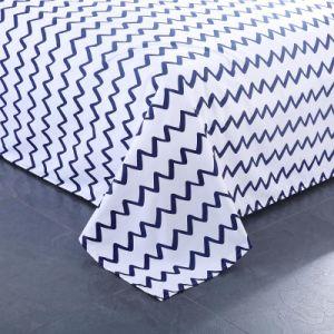 Gedruckte Polyester Microfiber Gewebeduvet-Deckel-Bettwäsche