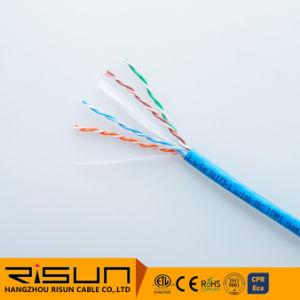 Cable trenzado UTP Cat 6 Cable Flexible