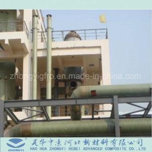 Vario tubo a forma di di GRP di trasporto del gas corrosivo