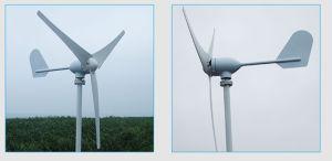 Низкая скорость ветра для запуска 3 фазы AC12V/24V 3 или 5 лопасти ветровых генераторов 400W жилых ветровой турбины
