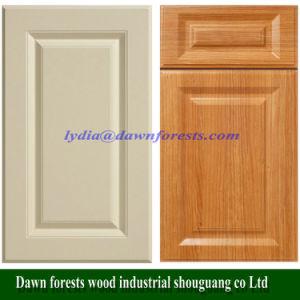 Мебель детали 18мм MDF вакуума ПВХ кухонные двери распределительного шкафа/шкаф двери