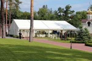 ナイジェリア屋外の贅沢なアルミニウムフレーム党結婚式のテント
