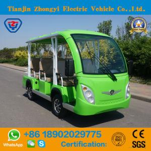 O autocarro de turismo alimentado por bateria Zhongyi com marcação CE