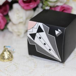 Elegante Caixa de doces para casamento Saco doces favores casamento dom para os noivos noiva vestidos de Casamento Decoração de terceiros