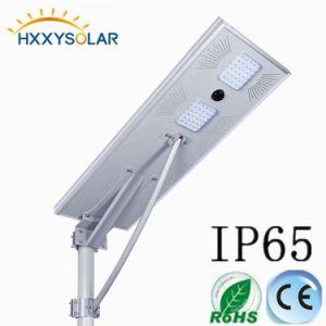 5 ans de garantie IP66 intégré tous de plein air dans un jardin de la rue lumière LED solaire