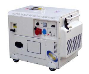 generatore raffreddato ad aria silenzioso eccellente della benzina 5kw
