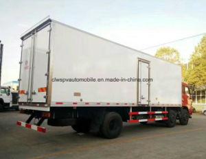 20t Dongfeng 8 колеса 3 осей охлажденных грузовик погрузчика