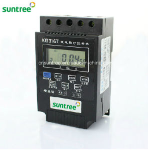 Kg316t Microcomputer Timer Switch AC 110V 220V 24V LCD Digital Display Microcomputer Timer