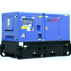Perkins Stamford Alternator와 가진 500kVA 영국 Soundproof Generator
