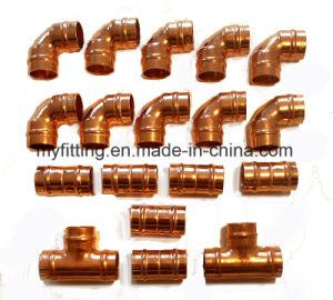 Anello di rame della saldatura dei montaggi della pressa che coppia 15mm e 22mm
