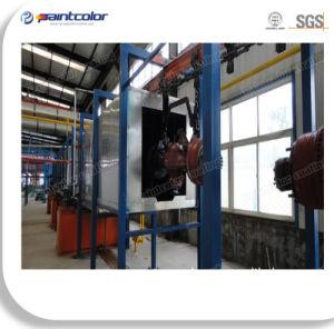 Línea de capa automática del polvo de las guarniciones industriales pesadas