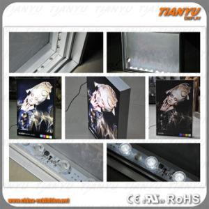 LEIDENE van de Stof van het Frame van het aluminium Textiel Lichte Doos