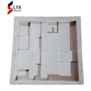 Fabricação 3D Painel de silicone na parede de pedra artificial do Molde