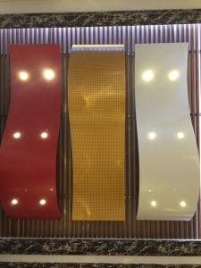 Plafond décoratif en aluminium sans forme standard