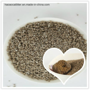 Libre de polvo de color original de bentonita irregular la arena de gato