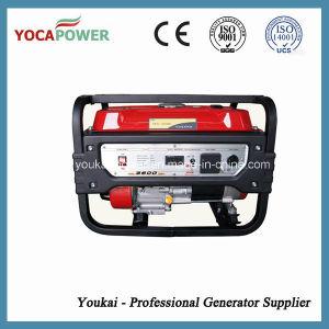 3kw de elektrische Generator van de Benzine van het Begin Draagbare