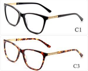 2018 vormen de Online Klaar Glazen van Eyewear van de Acetaat van Goederen de Nieuwe Model Unieke Frames Eyewear, het Italiaanse Teken van het Ontwerp van het Merk van het Embleem van de Douane Eyewear