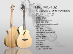 Cinco de 40 pulgadas con guitarra acústica Folk & EQ