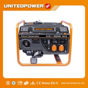 60Hz 3.0-3.3kw, Emergency Generator 3kVA mit Plastikkraftstofftank
