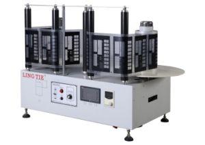 Máquina de rebobinado automático de etiquetas