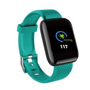2019 Novo visor colorido de alta definição OLED D13 Bracelete esportes inteligente com o monitor de ritmo cardíaco