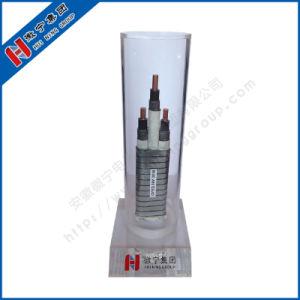 3*16 mm² 3kv caoutchouc éthylène-propylène câble isolé avec gaine intérieure Ruban d'acier plat blindé Câble d'alimentation de verrouillage de la pompe à huile submersible électrique