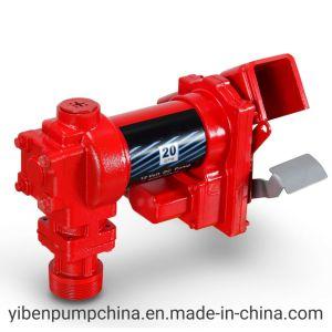 연료 이동 펌프 12 볼트 디젤 엔진 가스 가솔린 20 Gpm