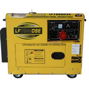 3 Этап 5 квт 5 КВА бесшумный дизельный генератор цена