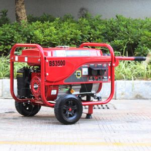 Bison (China) BS3500p (M) 2.8KW 2.8kVA hogar mucho tiempo de ejecución de tipo caliente Generador Gasolina King Power Parts