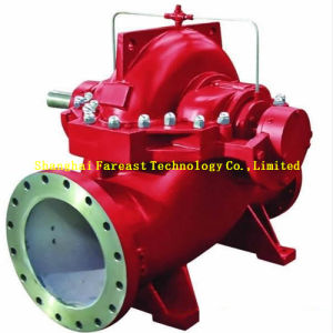 La unidad de motor diesel Vertical/Horizontal sola/Multi etapa Eje largo pozo profundo bomba diésel contra incendios establecido