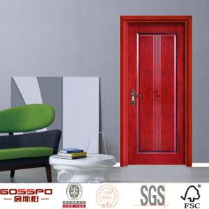 Portello di legno piano composito dell'impiallacciatura modellato HDF (GSP8-019)