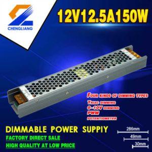 Atenuador Triac 0-10V Atenuador PWM atenuador 150W regulable de 12V de alimentación del interruptor de luces LED