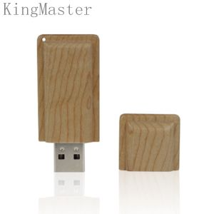 Король Оригинал Способ Древесина USB Ручка|Приводы вспышки USB