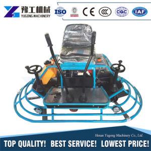 Trowel di potere con la rotella mobile allegata del motore di benzina 9.0HP