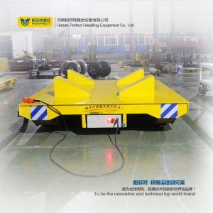 Linea di produzione veicolo ferroviario di trasferimento del carrello piano elettrico di uso
