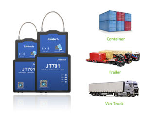 Bloqueio de vedação do recipiente de GPS Tracker para rastreamento de contêineres e carga solução anti-roubo de segurança