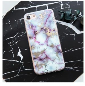 Nouveau Grain personnalisé de marbre de l'impression mobile iPhone Étui pour iPhone 8