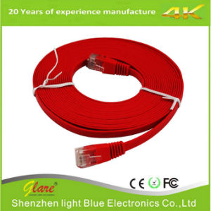 De 25 pies de cable UTP CAT6 RJ45 Cable de red LAN del equipo