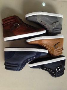 Estilo popular de los hombres transpirable zapatos