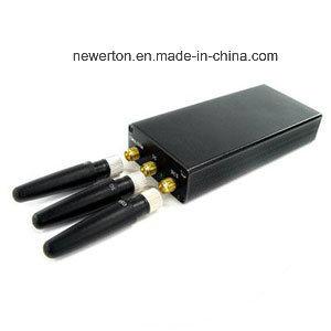 De draagbare Handbediende GSM 3G Mobiele Stoorzender van het Signaal van de Telefoon
