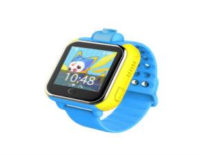 呼出し、声メッセージおよびリアルタイムの位置の子供のためのスマートなGPSの腕時計
