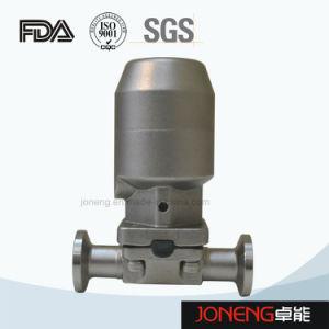 Tipo valvola di Diaphrgam (JN-DV2001) di trasformazione dei prodotti alimentari dell'acciaio inossidabile mini