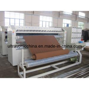 Machine à gaufrage à ultrasons pour tissu velours (CE)