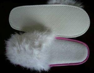 Pantoufle Chiken-Feather