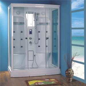 Doble dos persona Marco el cuarto de baño de vapor de ducha