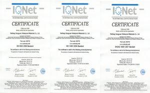 Het Waterdichte Membraan van pvc met ISO- Certificaat
