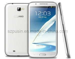 5.7IPS 1GB+8GB Nota2 1.2GHz Star N9589 Mtk6589 Quad-Core Android Market 4.1 telemóveis inteligentes