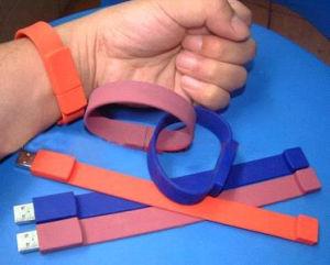 Singolo braccialetto di colore del USB
