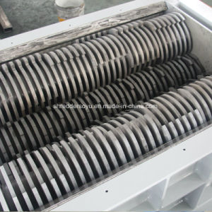 드럼을%s 4개의 샤프트 슈레더 또는 금속 또는 유리 또는 낭비 또는 냉장고 또는 깔판