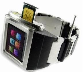 Mobiel Horloge met Bluetooth